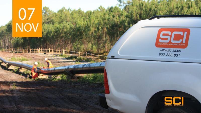 inspección y END en gasoducto