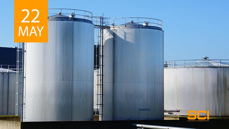 inspección reglamentaria en almacenamiento de productos químicos