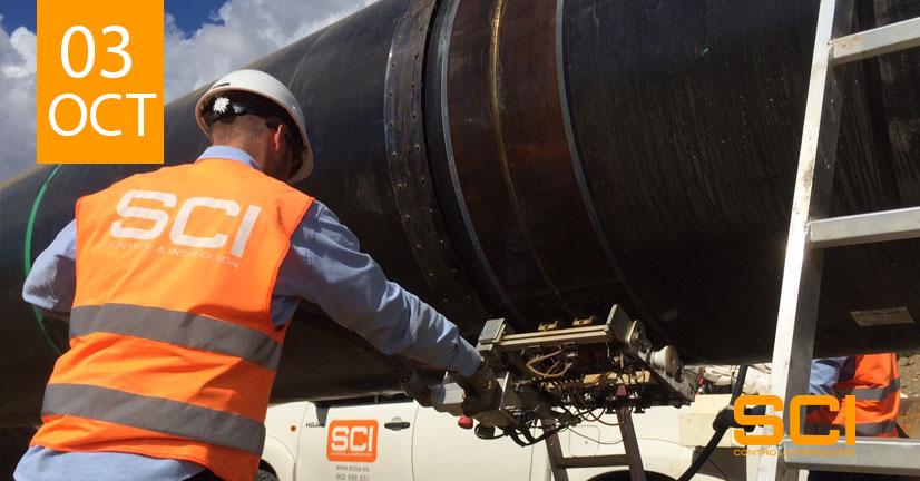 Ensayos por Ultrasonidos aplicados a pipelines