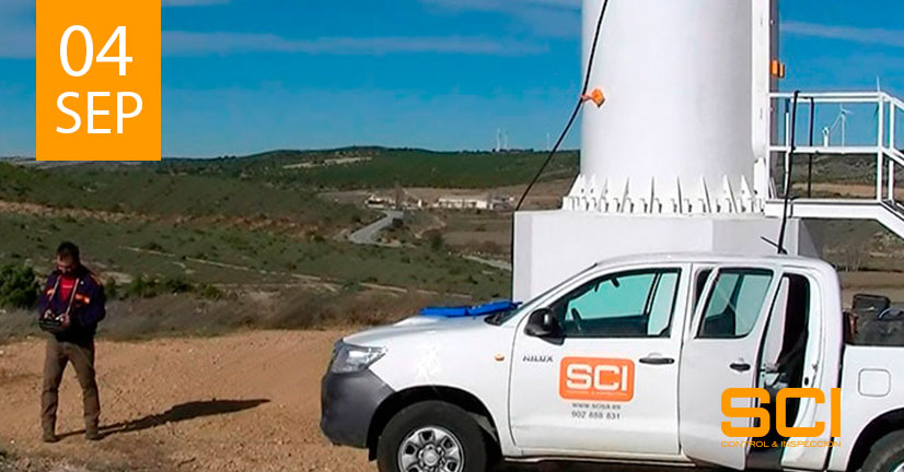 Inspección por ultrasonidos registrables de las soldaduras de las torres eólicas